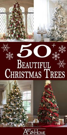 Christmas Trees are the cornerstone of holiday decor. They create a seasonal focal point that reflects both your personal style and your love of the Christmas Holidays. #Christmas #ChristmasTrees #ChristmasDecor #ChristmasDecorations