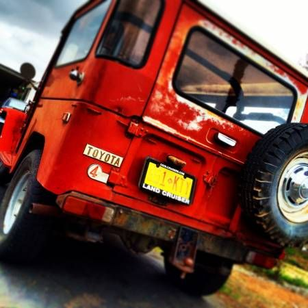 Barnfind Fj40 For Sale In San Diego Via Bat Craigslist With
