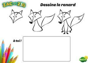 Apprends à Dessiner Le Renard Drawing To Learn Dessin