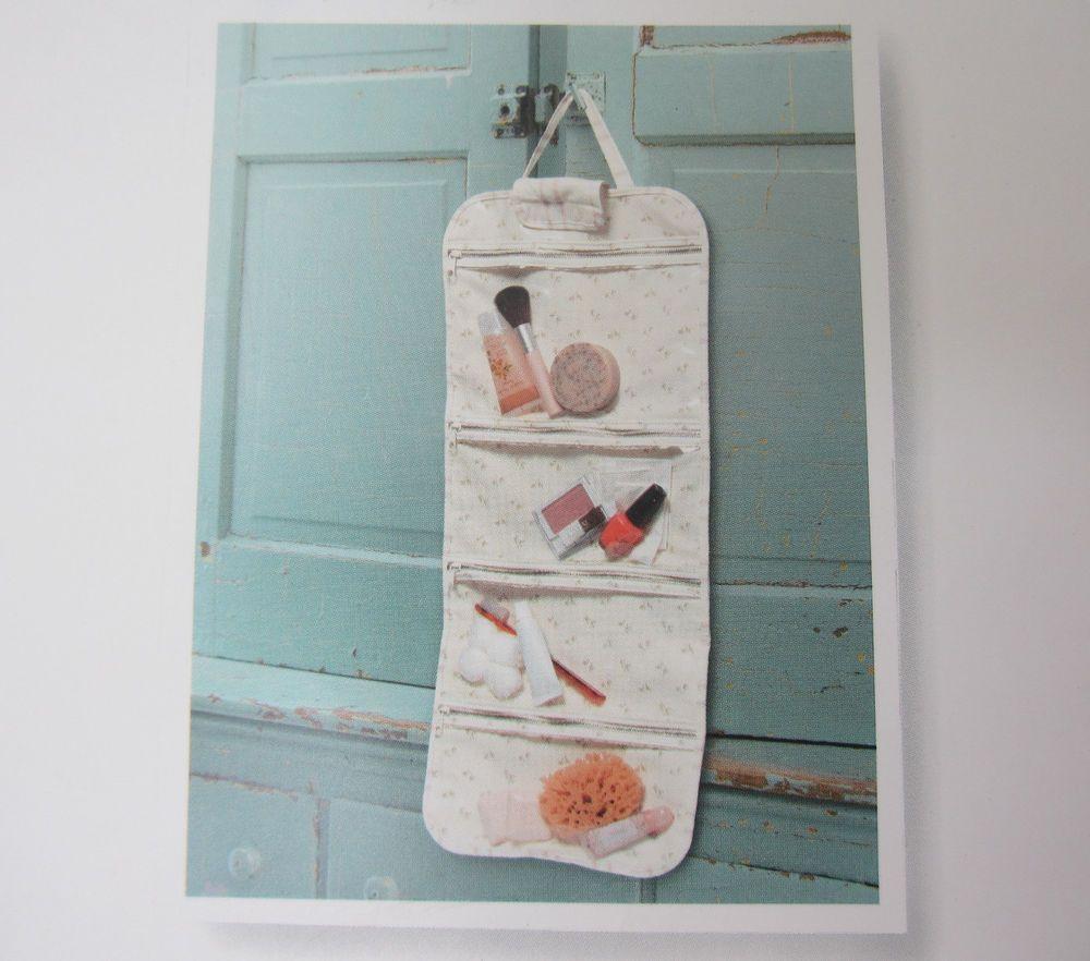 NEW Simply Shabby Chic Folding Travel Makeup Bag/Toiletry Organizer #SimplyShabbyChic