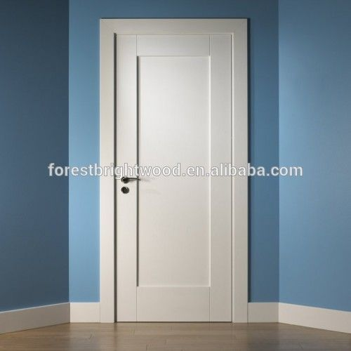 White Primed Prehung 1 Panel Shaker Doors Interior For Projects Buy Panel Doors Interior Room Door Shaker Doors Interior Prehung Panel Doors Product Shaker Style Interior Doors Doors Interior Doors Interior Modern