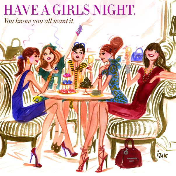Have a girls night. You know you all want it. #31DAYSOFHB