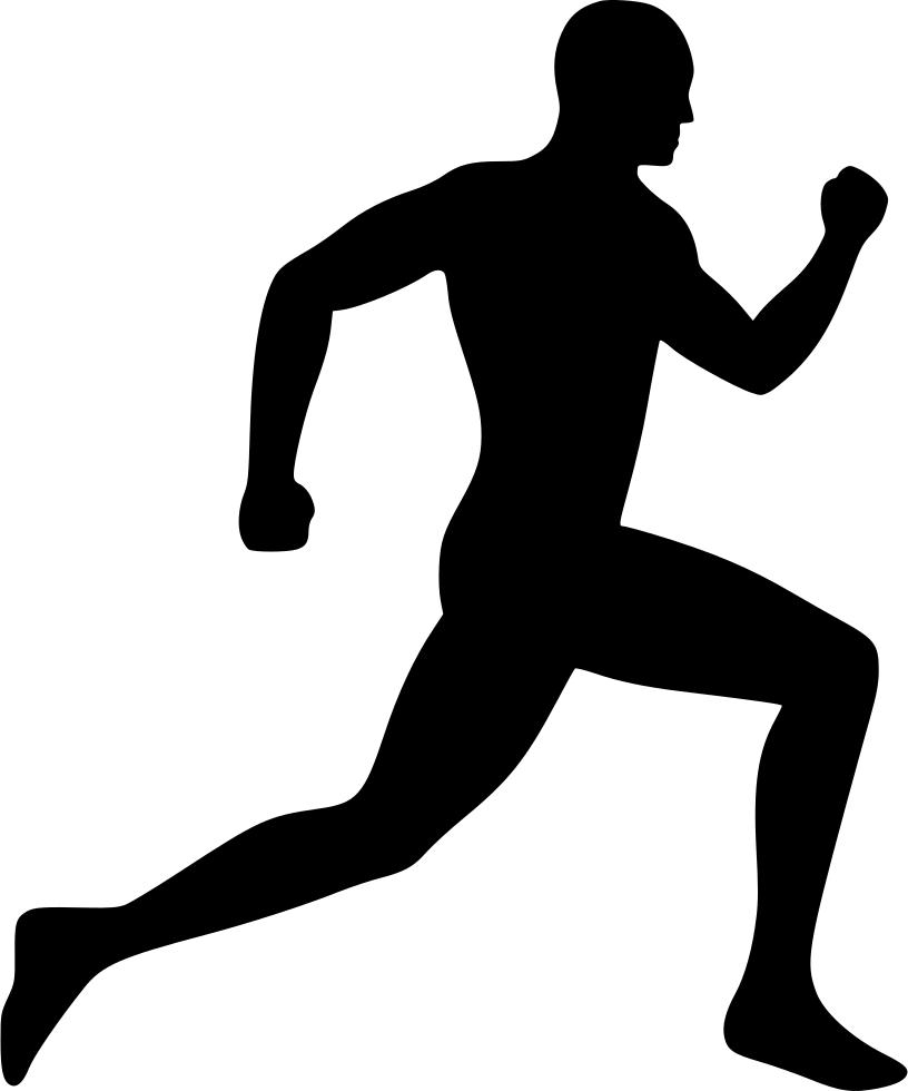 Running Man Running Man Sports Fashion Men Logo Hipster