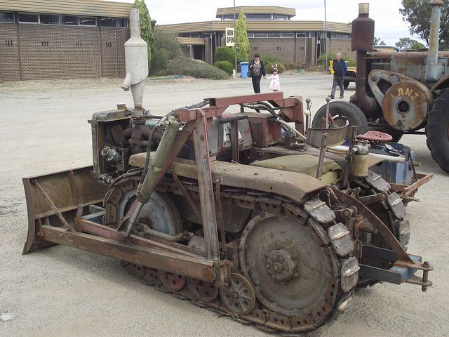1950 S Home Made Crawler Tractor Homemade Tractor