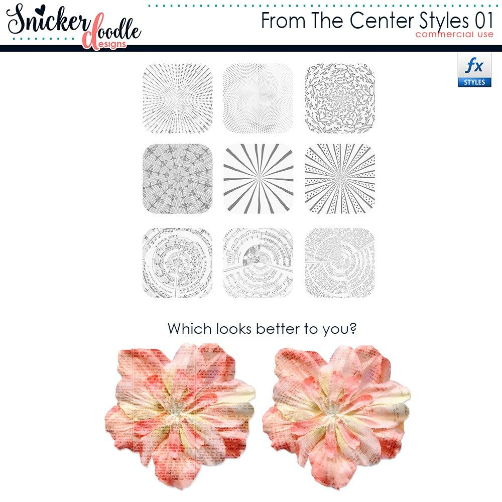 FromtheCenter Styles Tutorial elements