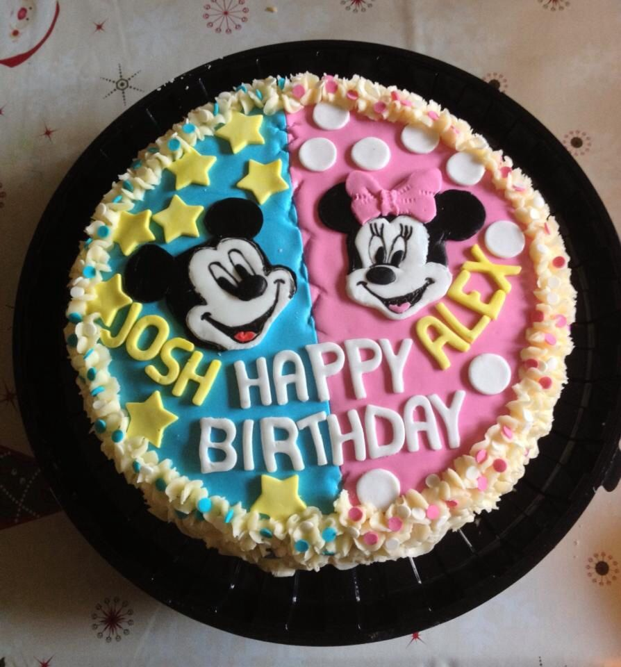 Photos Of Cake For Brother : Cute brother & sisters birthday cake. My Cakes ...