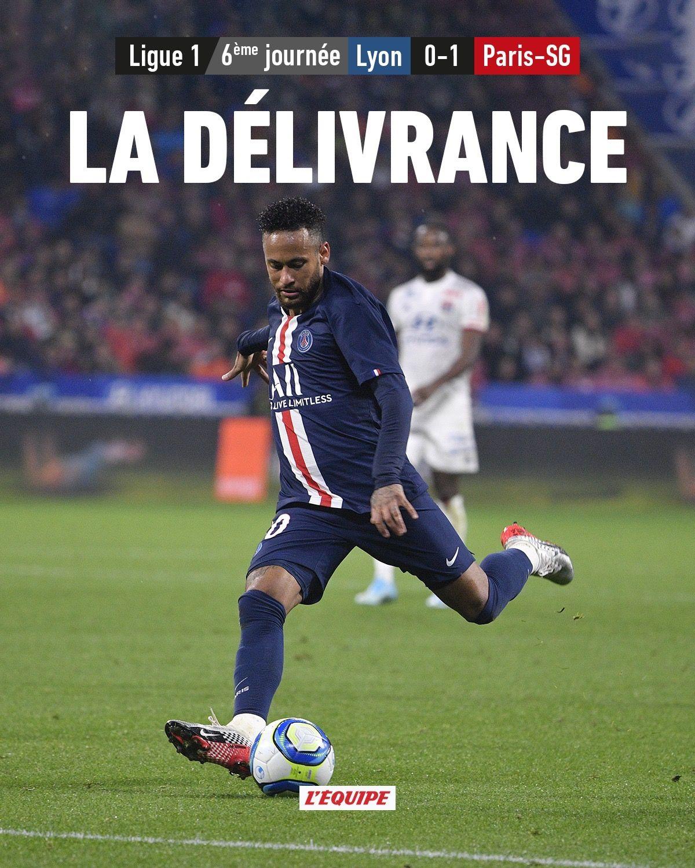 lyon psg ligue1 20192020 neymar Ligue 1, Paris, Équipe