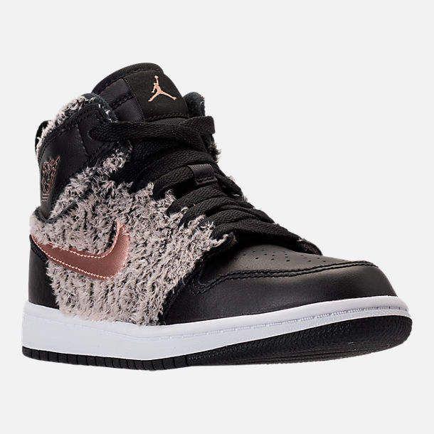 Girls' Little Kids' Jordan Retro 1 High Basketball Shoes