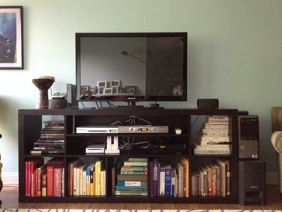17 Best images about Expedit Hacks TV Stand on Pinterest   Shelves, Tv on  wall and Amon
