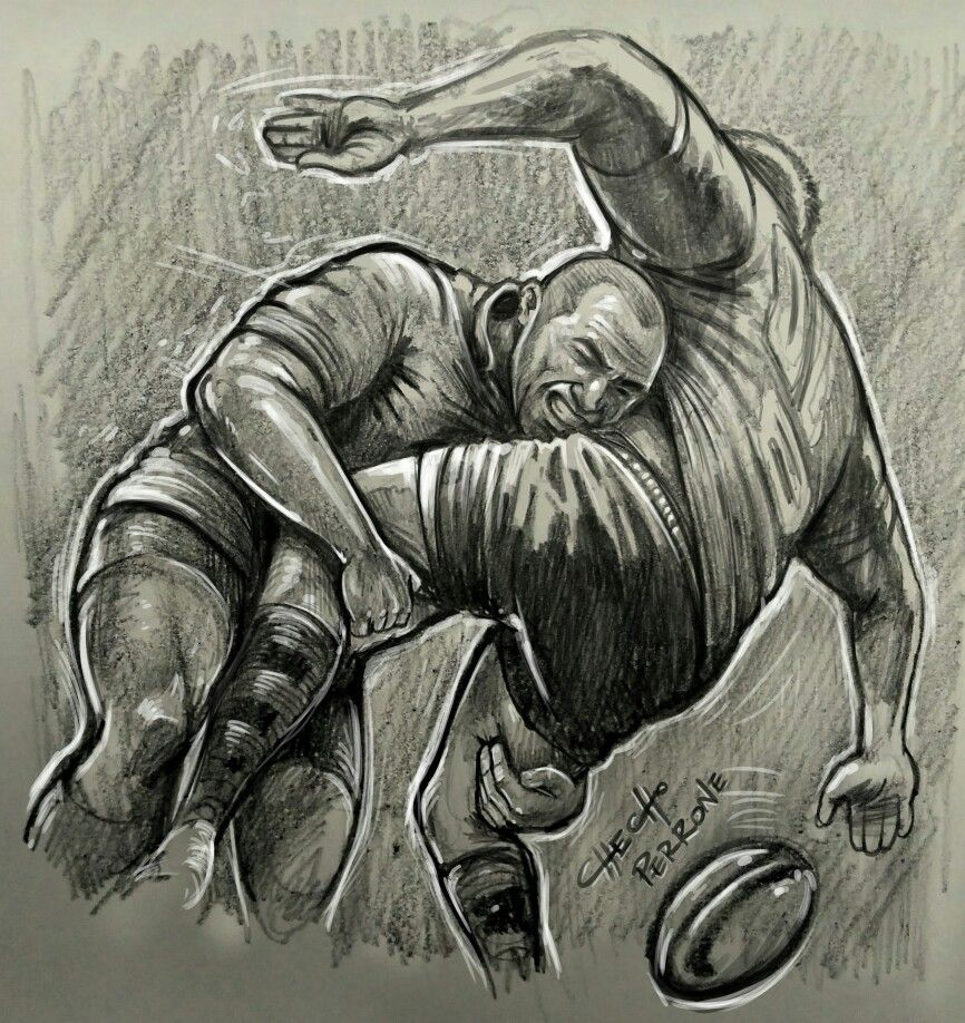 Checho Perrone Rugby Sketch Dibujo Kevingston Dessin Rugby Art Dessin Dessin