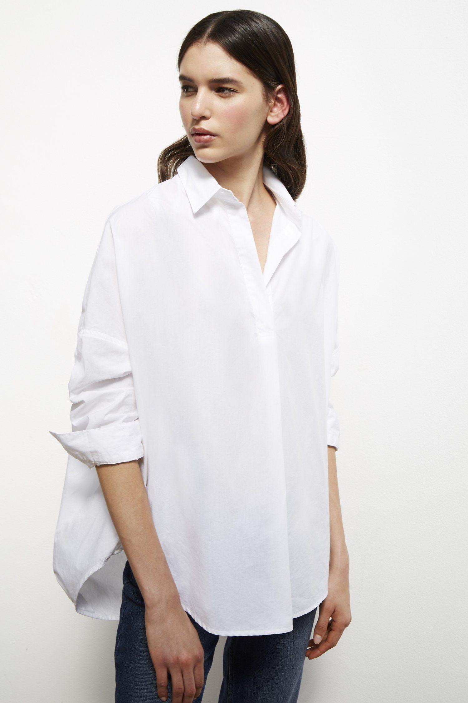 oversized white shirt womens uk