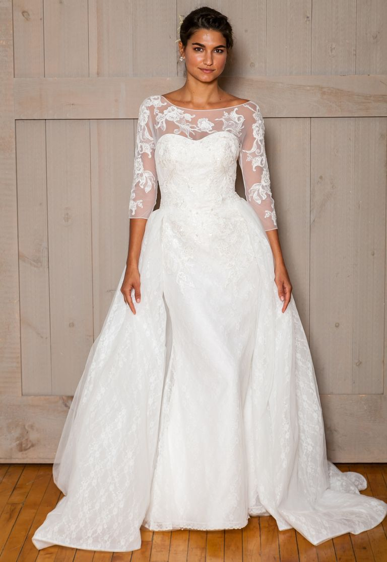 Davidus bridal fall wedding dresses are for the modern romantic
