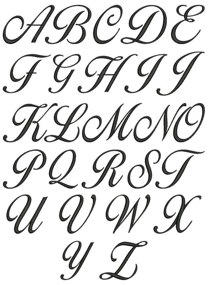 Pin By Ada Vaquero On Lettering Tattoo Fonts Alphabet Cursive