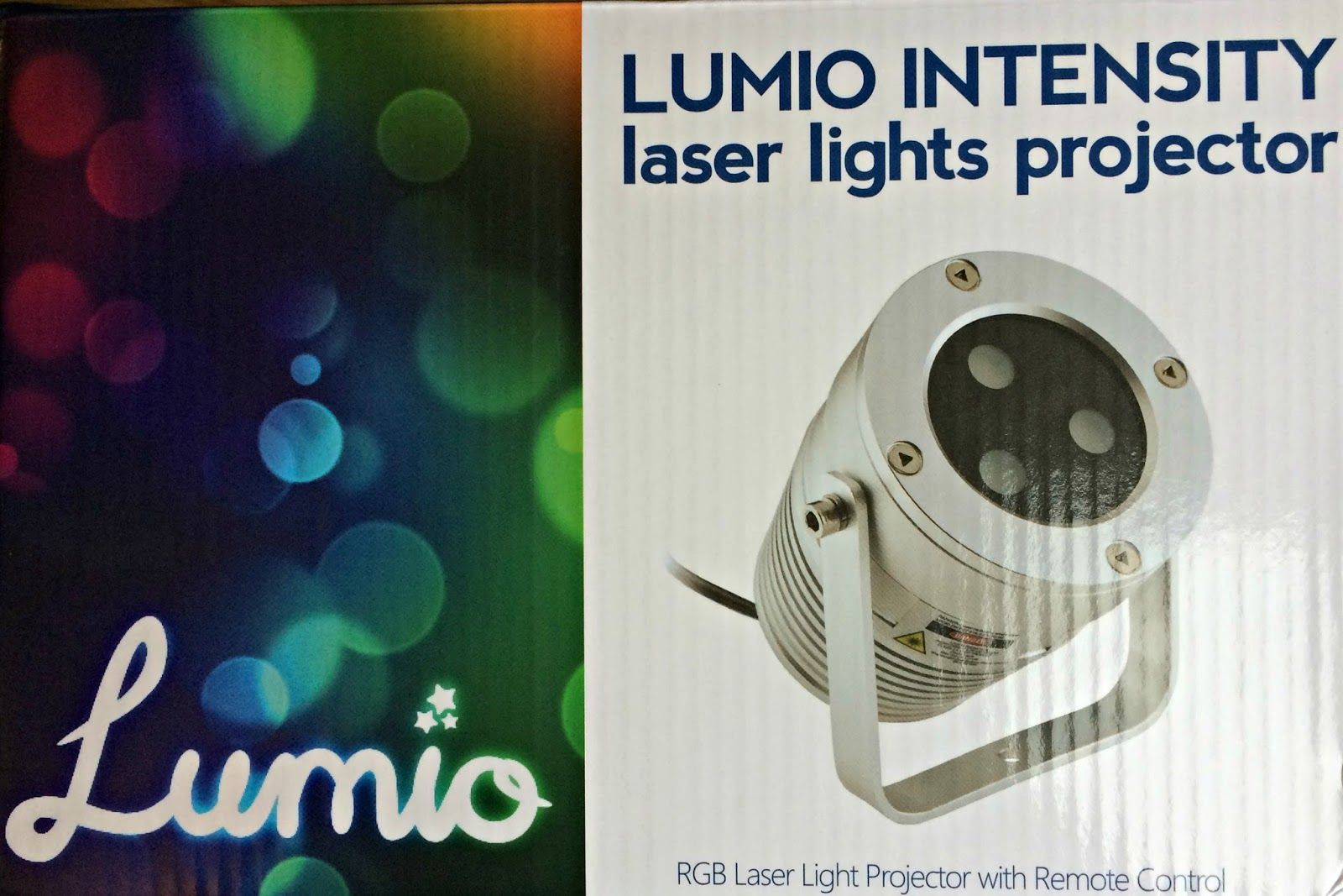 Review Lumio Intensity Laser Lights Projector From