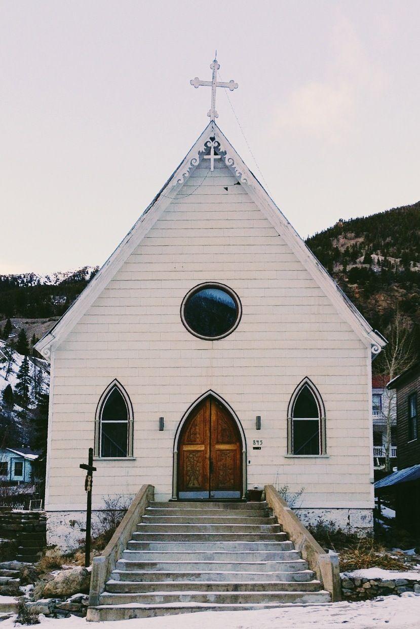 Silver Plume Co >> Mountain Church Silver Plume Co Colorado Rocky