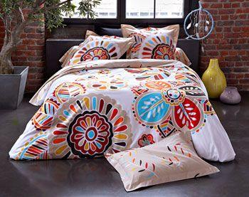 linge de lit multicolore Linge de lit fleurs multicolores fantaisie | Linge Lit | Pinterest  linge de lit multicolore