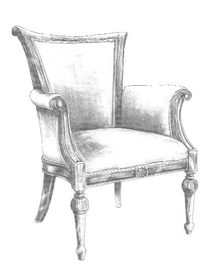 rocking chair drawing easy. chair sketch rocking drawing easy i