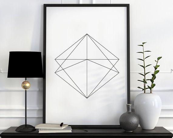 Trending art Affiche scandinave modern minimalist by PosterVibes