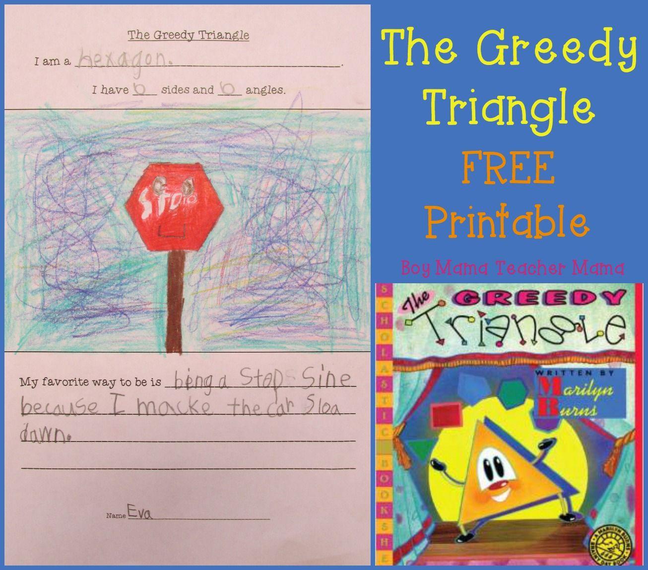The Greedy Triangle Free Printable