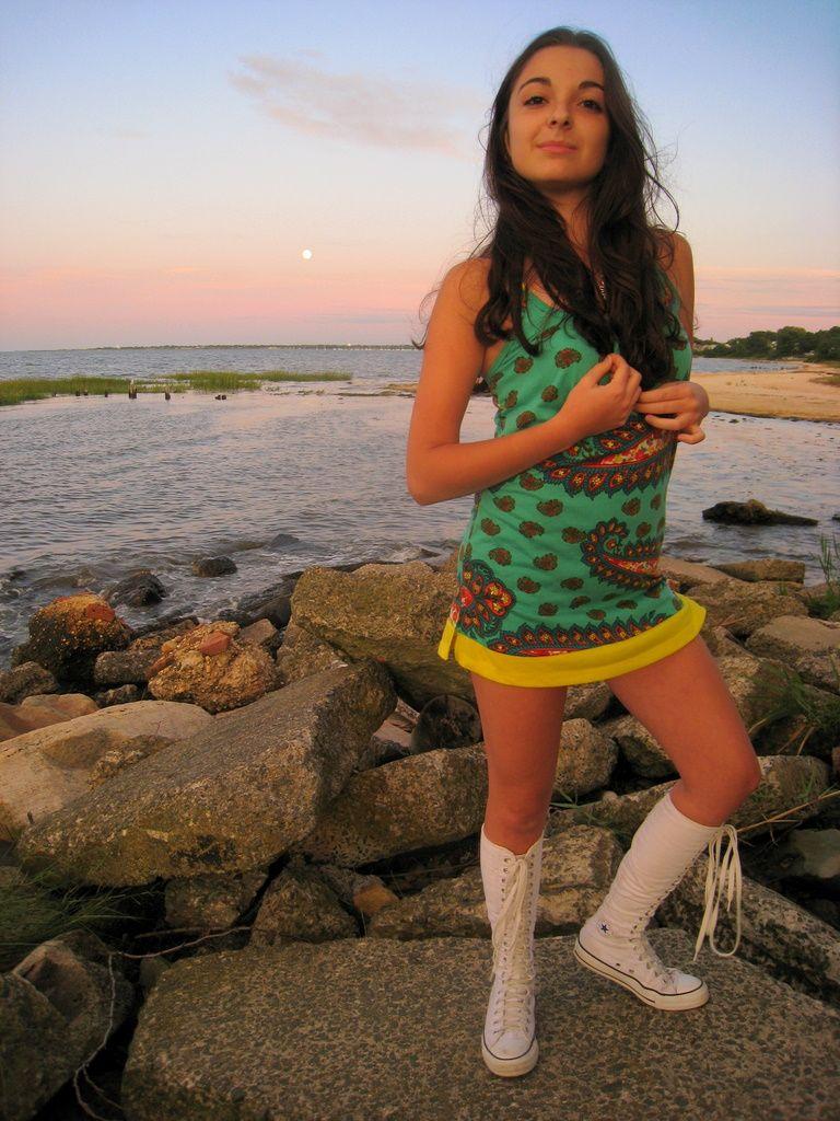 5548ab36b9c908 xxhi knee high converse converse boots tall converse white girl sea ...