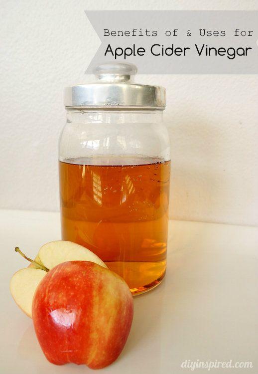 Benefits and Uses for Apple Cider Vinegar | Apple cider