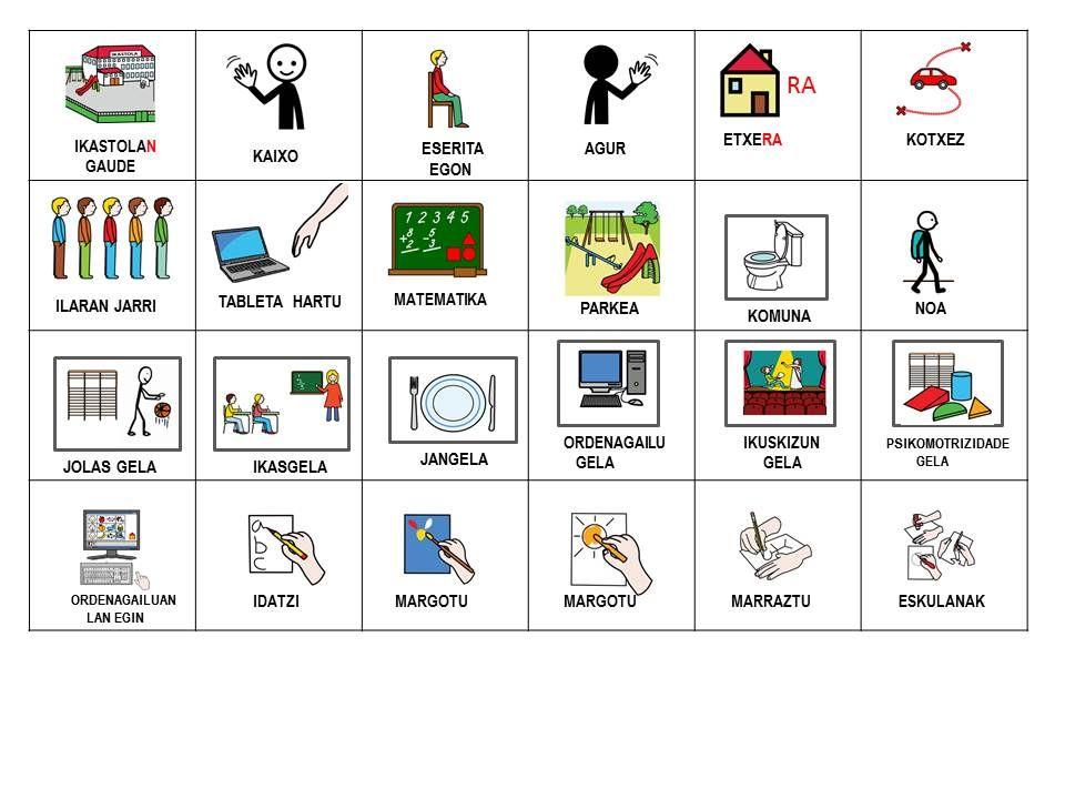 Arasaac Pictogram Catalog In Color Tableros De Comunicación Pictograma Actividades De Aprendizaje Del Niño