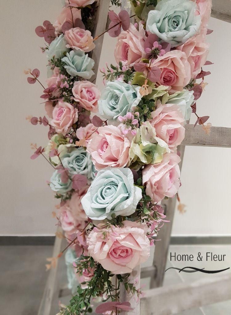Cudownie Kwiatowa Girlanda Na Sesje Fotograficzna 7812713798 Oficjalne Archiwum Allegro Floral Wreath Floral Wreaths