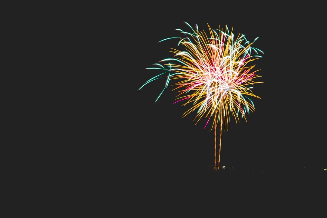 Fireworks In Celebration Download This Photo By Yuiizaa September On Unsplash Fireworks Pictures Good Night Image Couple Wallpaper