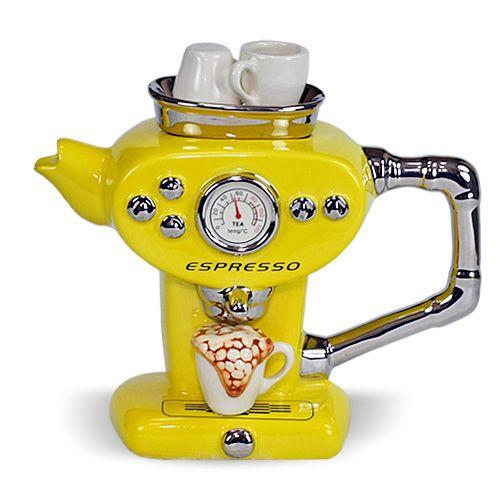 Espresso teapot! #espressocoffee