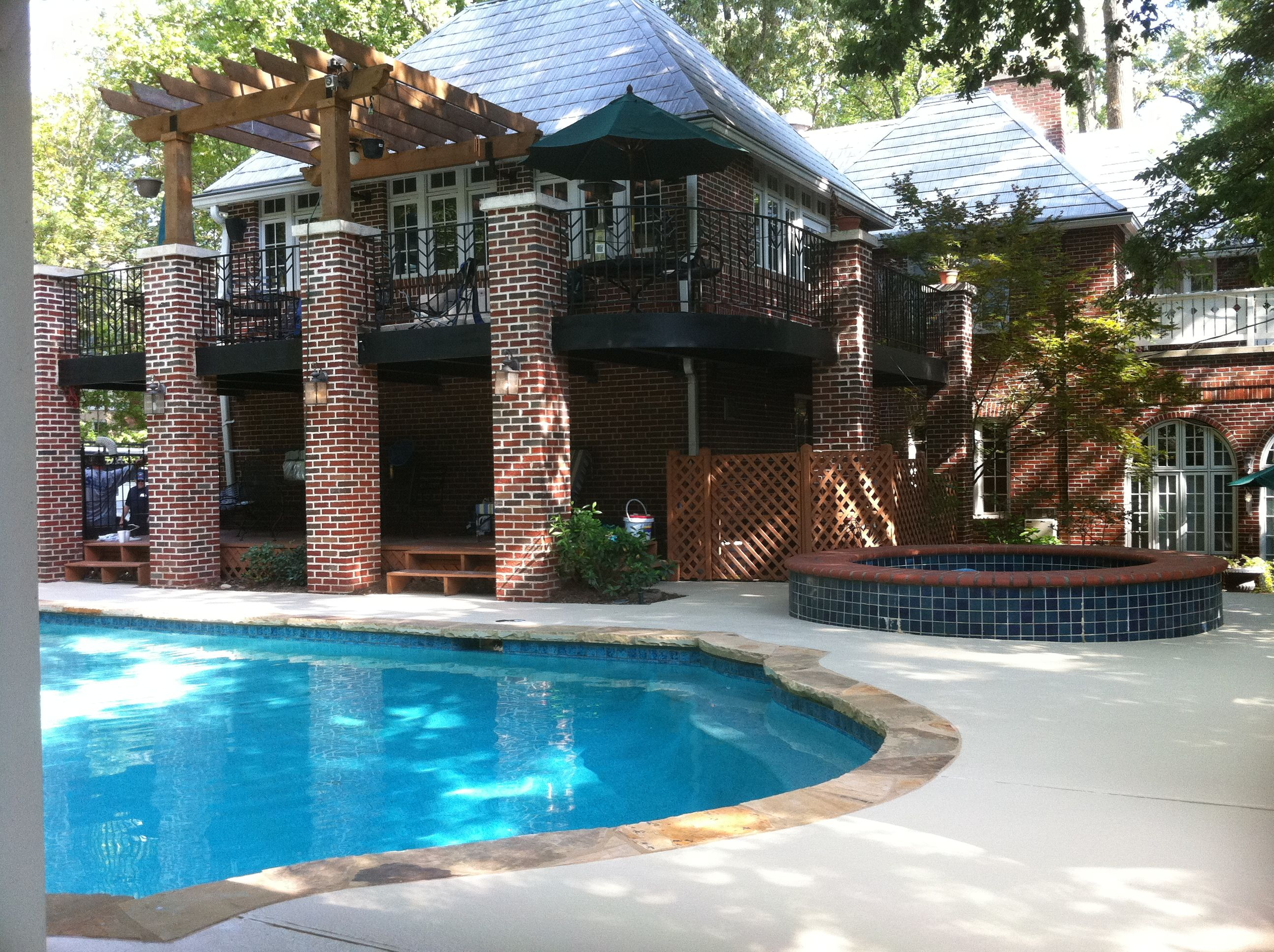 Cool Deck Concrete Pool Coating, Reduces Deck Temp By 38%