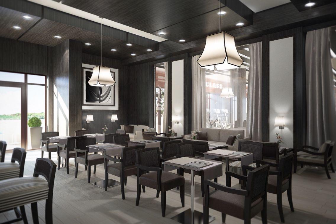 Bar-/Restaurant: Idee, Konzept, 3D Gestaltung und Rendering ...