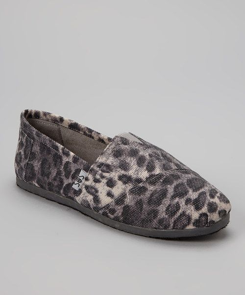 a2fc47125d2 Take a look at the Gray Leopard Slip-On Shoe on  zulily today!