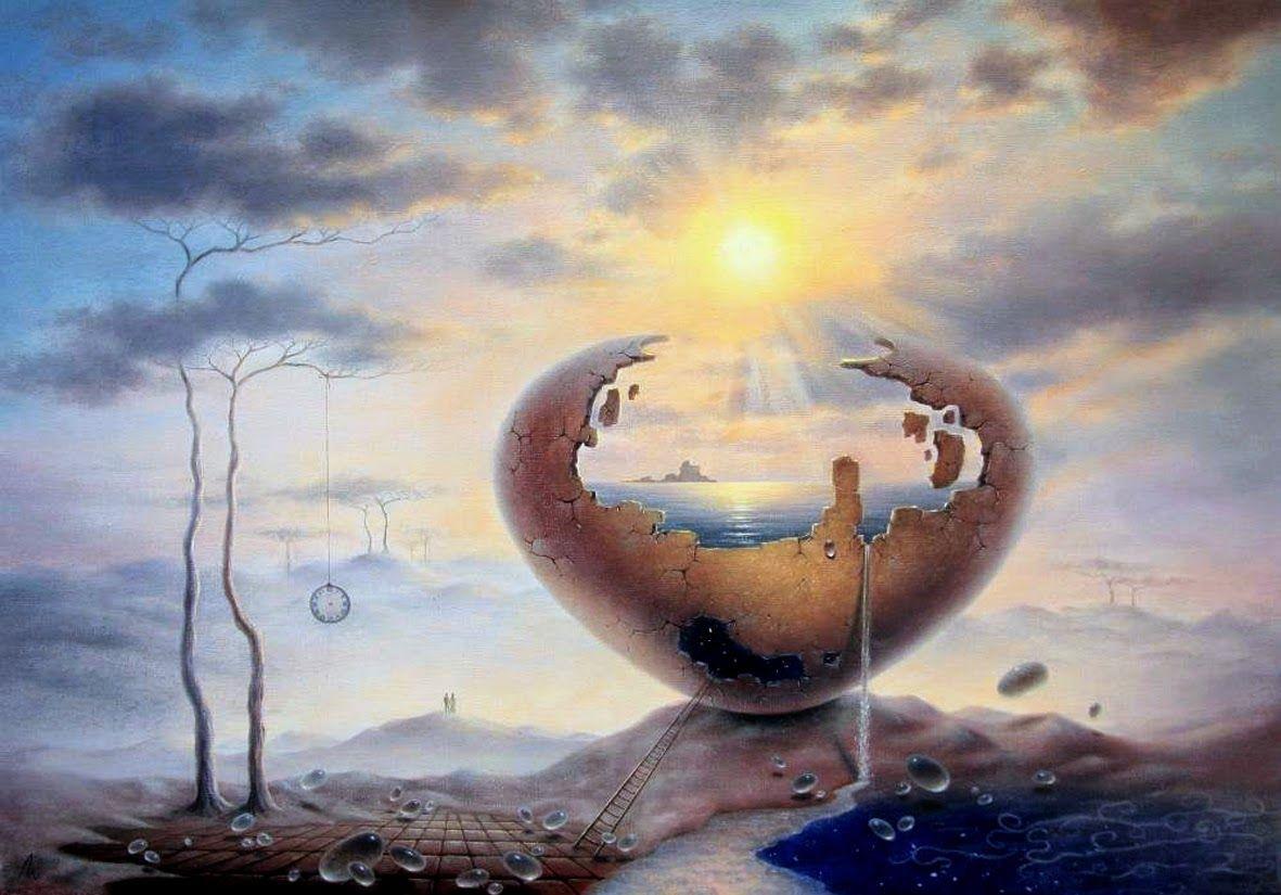 Lubov Zubova, 1979 | Surrealist painter | Tutt'Art@ | Pittura * Scultura * Poesia * Musica |