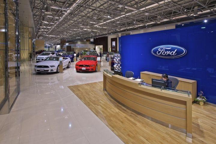 Al Tayer Motors Showroom By Godwin Austen Johnson Ansorg