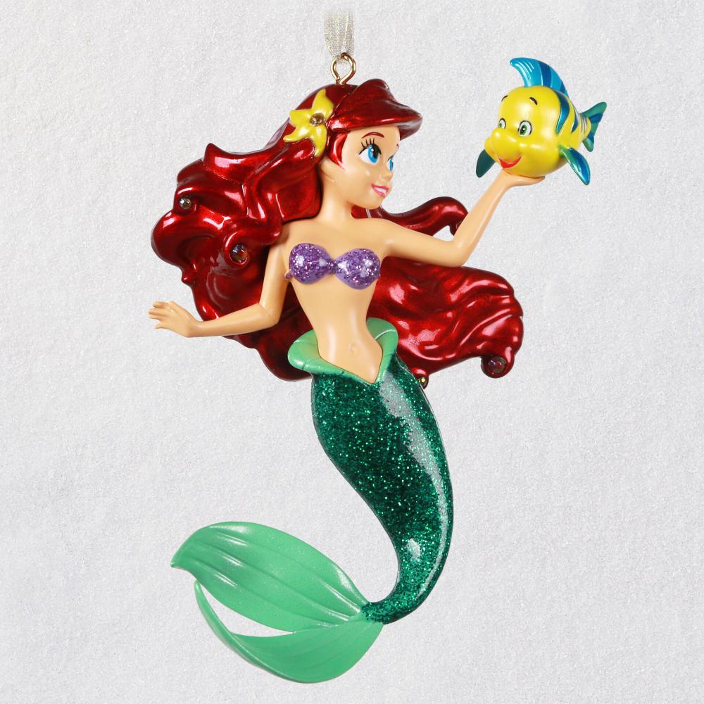 Disney The Little Mermaid Ariel and Flounder Metal
