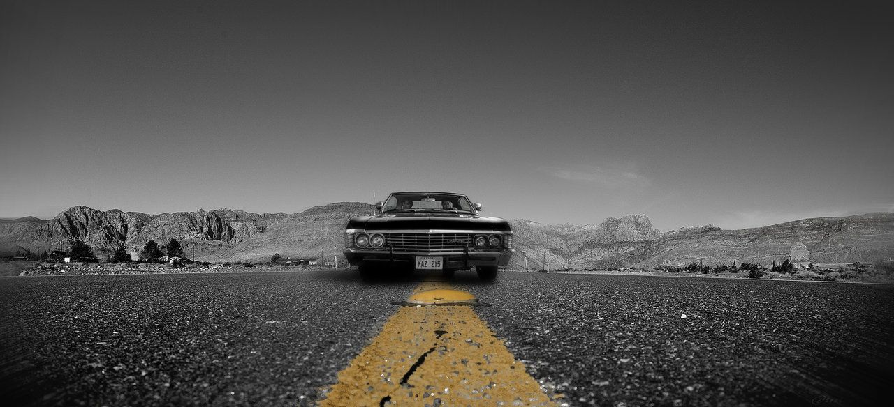 supernatural car impala wallpaper - photo #36