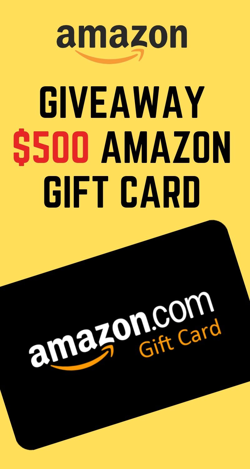 Amazon Gift Card: Get a $500 amazon gift card completely ...