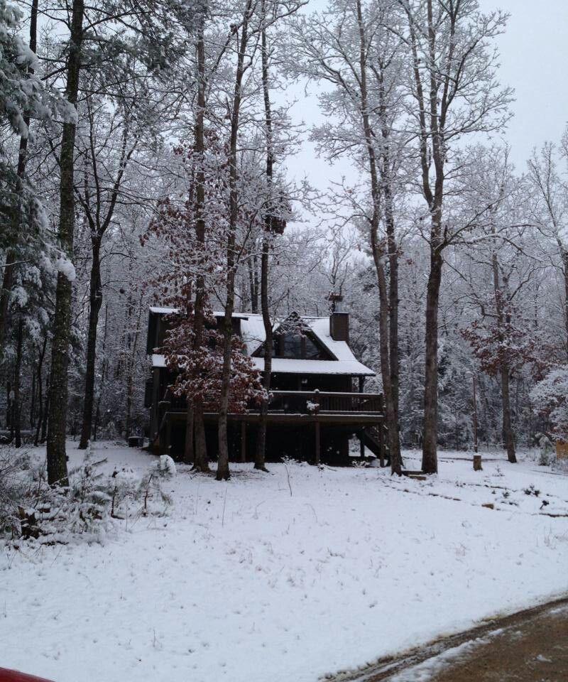 Cabin In The Snow Blairsville Georgia