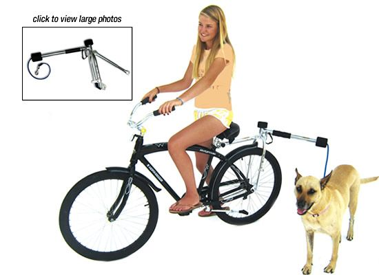 Bike Dog Leash For More Great Pics Follow Bikeengines Com