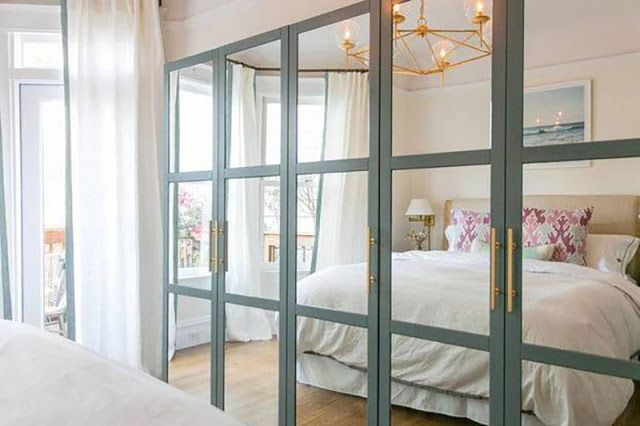 Excellent Closet Doors Makeover To Add Style More Light And The