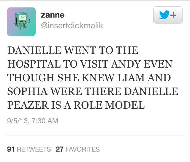 DANIELLE IS AMAZING <<<<< Umm exuse me but Danielle has ALWAYS been amazing!! xx