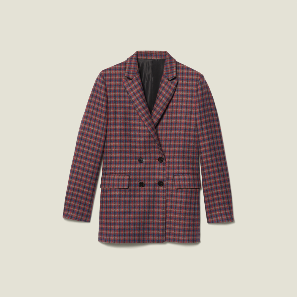 Checked Double Breasted Blazer | Fashion Wishlist in 2019