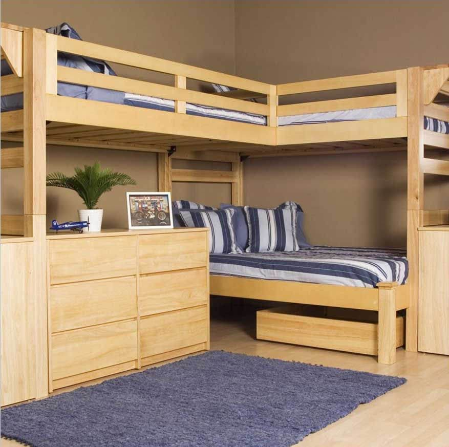 Free Diy Bunk Bed Plans Ideas That Will Save A Lot Of Bedroom Space Build A Loft Bed Loft Bunk Beds Loft Bed Plans