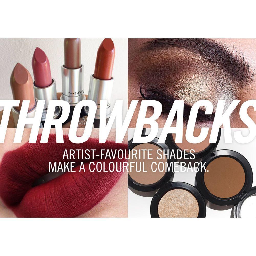 MAC Lipstick Satin Throwbacks