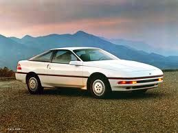 1989 Ford Probe White With Blue Interior 5 Speed Ford Probe