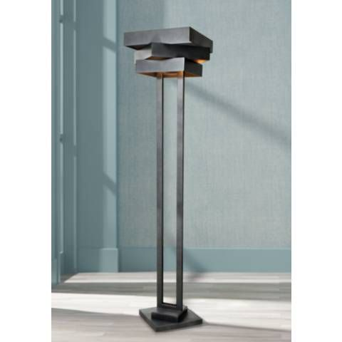 Use This Metal Floor Lamp To Provide Elegance And