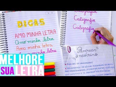 e77b3ba562 COMO TER A LETRA BONITA E O CADERNO LINDO ORGANIZADO + DIY POST ITS! -  YouTube