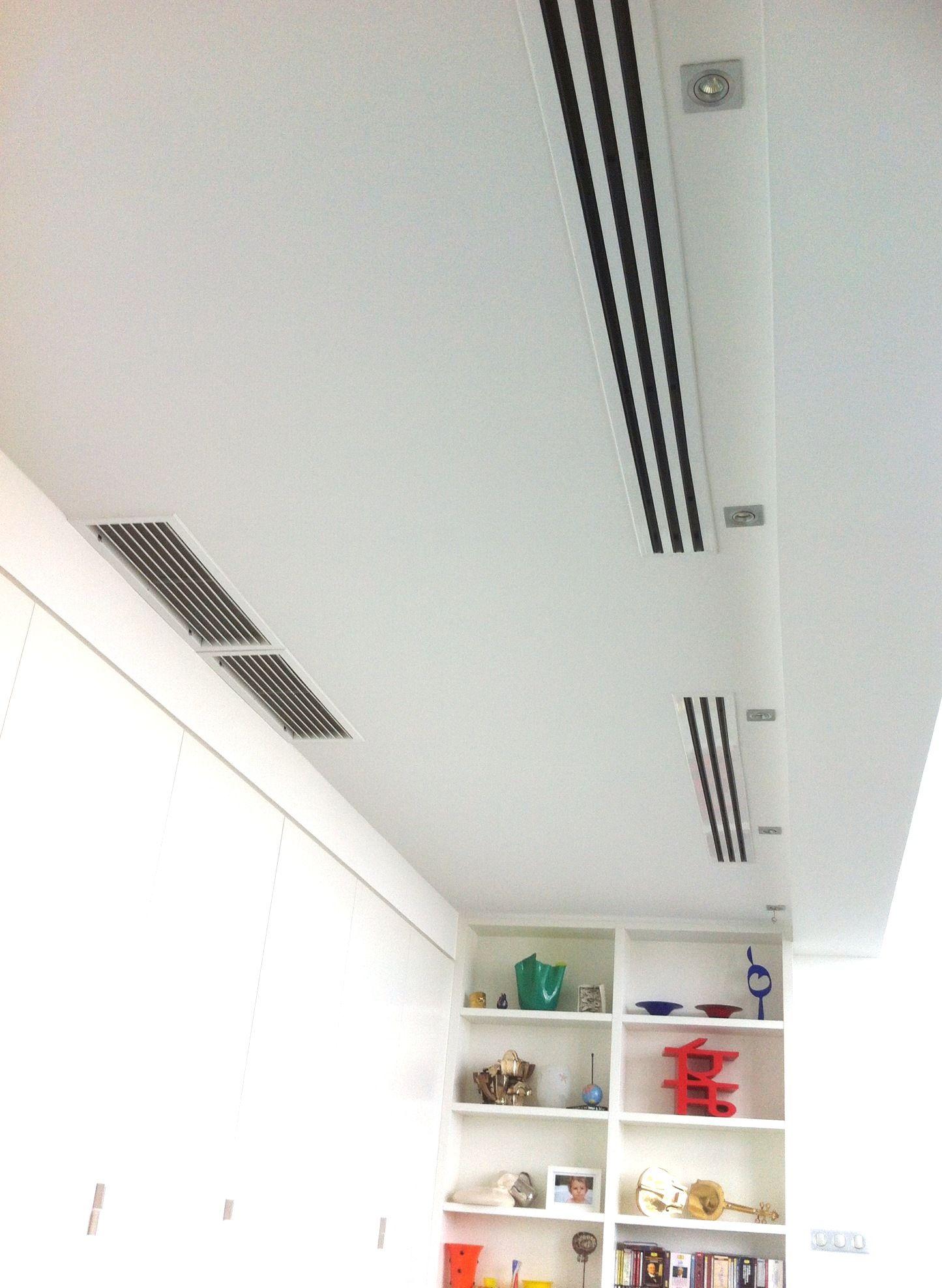 Diffusion Par Grille A Fentes En Faux Plafond With Images