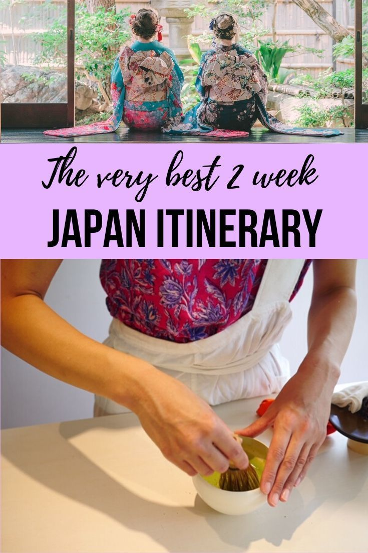 The best Japan 2 week itinerary • This fun and food-filled Japan 2 week itinerary explores must-see tourist hotspots for first time visitors and hidden gems many Japanese haven't visited! If you're planning to spend two weeks in Japan, this post will help you decide where to stay, what to do, and what to eat while you're in Japan!  #Tokyo #MtFuji #Japan #Kyoto #Shizuoka #Gunma #Ibaraki