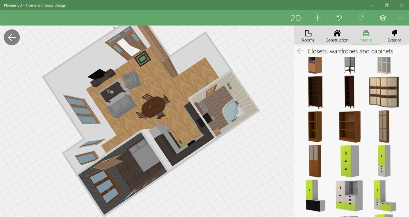 App For Windows 10 A Universal Interior Design And Floor Plan For Windows 10 Download It For Interior Design Apps Floor Plan Design Interior Design Software